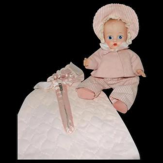 "1955 Cute Vogue Dolls 8"" Ginnette in #004"