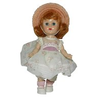 1955 Vogue MLW Ginny Doll in #81 Bon-Bons Outfit