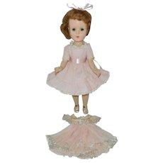 """1950's 14"""" Pretty Hard Plastic Sweet Sue Walker Doll"""