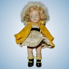 Darling 1948-1950 Vogue Painted Eye Ginny Doll