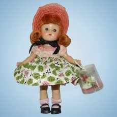 """Lovely 1954 Vogue Ginny Doll in Complete #61 """"My First Corsage Styles"""""""