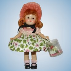 "Lovely 1954 Vogue Ginny Doll in Complete #61 ""My First Corsage Styles"""