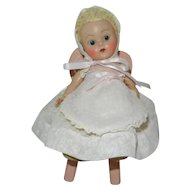 "Fantastic & Hard to Find Early 1950's Vogue Ginny Doll ""Crib Crowd Baby"""