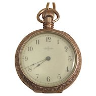 Elgin Lady's Pocket Watch.  Victorian 1888.