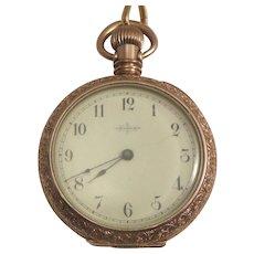 Elgin Lady's Pocket Watch.  Victorian 1888.