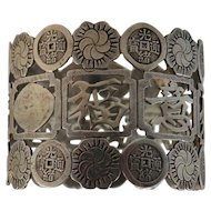Chinese Export Silver Napkin Ring