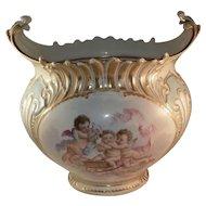 French Porcelain Jardiniere T & V Limoges