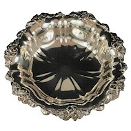 """Unger Brothers Sterling Silver Bowl. 10"""" Diameter."""