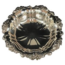 "Unger Brothers Sterling Silver Bowl. 10"" Diameter."