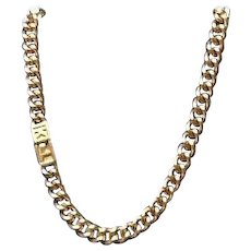 Vintage Lagerfeld Chunky Choker with KL Clasp