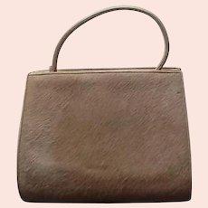 VIntage Nettie Rosenstein Pony Hair Handbag