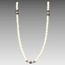VIntage Lanvin Faux Pearls with Jewels