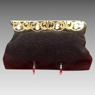 Vintage French Chunn Beaded Evening Purse with MOP Cameos