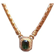 Vintage Lanvin Necklace with Classic Statement Piece