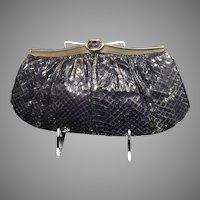 Vintage Leiber Python Handbag
