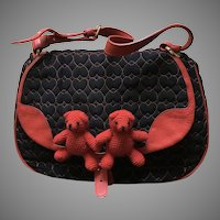 Vintage Moschino Iconic Bear Handbag