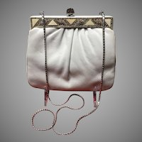 "VIntage Leiber ""Summer""Handbag with Jeweled Frame"