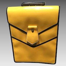 """Vintage Murray Kruger Huge """"Mod"""" Handbag/Briefcase"""