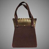 "VIntage Stylecraft ""Jaws"" Frame Handbag"