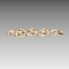 """Vintage Korda """"Thief of Bagdad"""" Bracelet Encrusted with Jewels"""