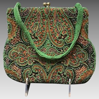 Vintage Delill Purse with Beading ***Gorgeous***