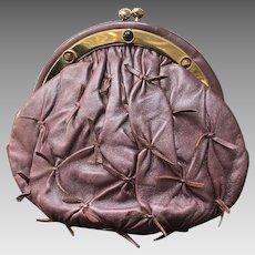 "Vintage Judith Leiber ""Pinched"" Handbag with Jeweled Frame"
