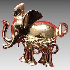 Vintage Grosse Elephant Brooch