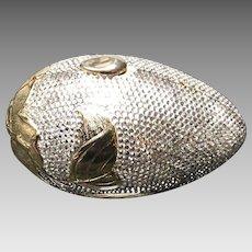 "Vintage Judith Leiber ""Botanical"" Egg Minaudiere with Swarovski Crystals"