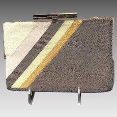 b1645202a336 Vintage Pierre Cardin Beaded Handbag with Deco Clasp. M M Goomis Antiques