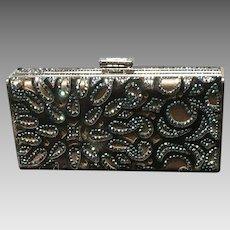 Vintage Leiber Minaudiere with Shimmering Swarovski Crystals