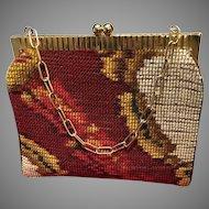 """Vintage Koret """"Carpet Bag"""" with Decorative Frame"""