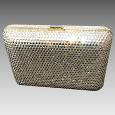 Vintage Leiber Minaudiere with Shimmering Crystals