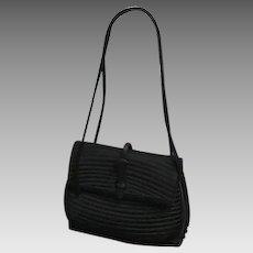 Vintage Early Leiber Silk Handbag