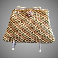 Vintage Josef Beaded Evening Purse with Beaded Frame