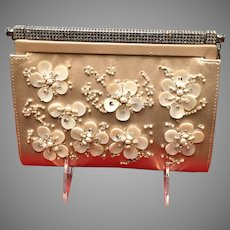 Vintage Valentino Evening Purse with Jeweled Adornments
