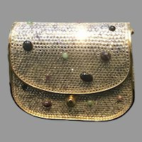 Vintage Leiber Minaudiere with Swarovski Crystals and Jewels