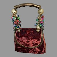 Vintage Helene Angeli French Bag with 'Bells and Whistles'