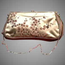 Vintage Revivals Silk Purse with Asian Flair