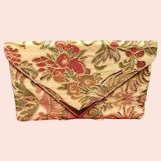 Vintage Rodo Embroidered Brocade Purse