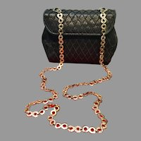 Leiber Purse with Passementiere and Swarovski Crystals