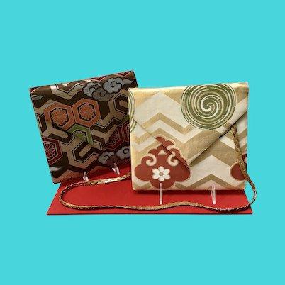 Vintage Two Diane Love Large Envelope Handbags