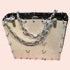 Vintage Industrial OOAK Unique Handbag