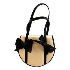 Vintage Pellegrino Handbag/ Purse with Bows