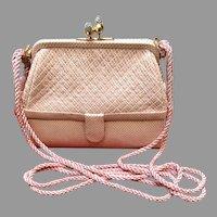 Vintage Leiber 007 Karung Lizard Shoulder Bag/Purse