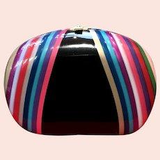 Vintage Colombetti Colorful Resin Purse