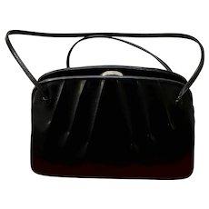Vintage Judith Leiber Classic Black Handbag