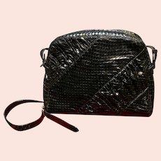 Vintage Leiber Casual Day Handbag Python Skins