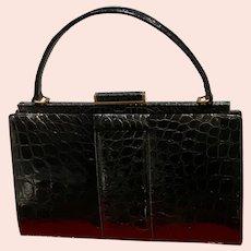 Vintage Lucille de Paris Classic Alligator Handbag
