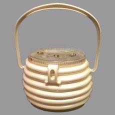 Vintage the Lindy Bag Acetate Plastic Handbag