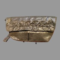 Vintage Anthony Luciano Wristlet Purse with Ruffles